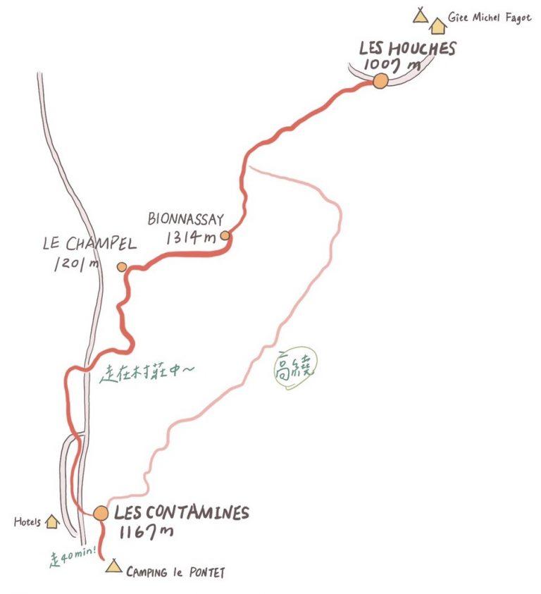 tourdumontblanc routes 步道